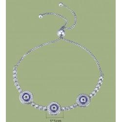 Brazalete de mujer de plata 925