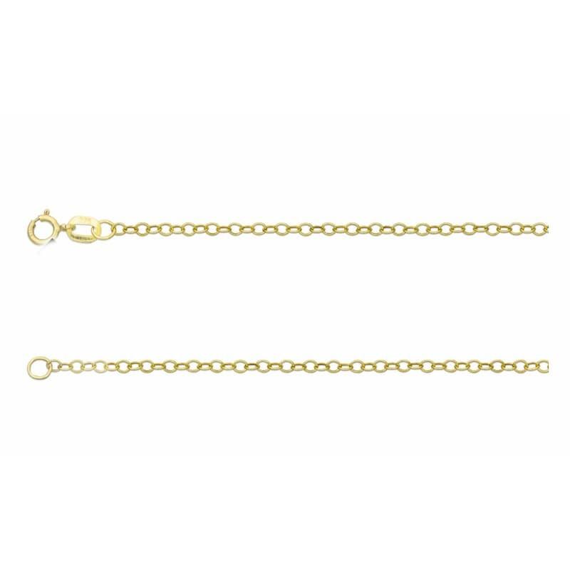 Collar de oro 18k 375 ml