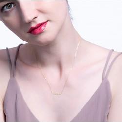 Collar plata fina con circonia cubicas