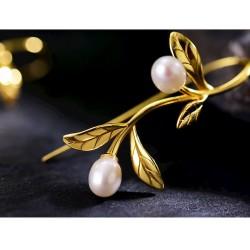 conjunto de joyas de perlas