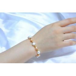 Pulsera de perlas de 10 mm