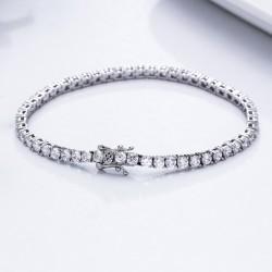 Joyas de plata con diamantes