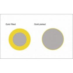 cadena gold filled economica