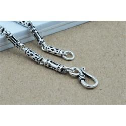 collar de plata hombre barato