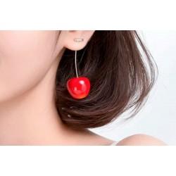Pendientes frutas rojas