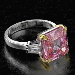 Alianzas de boda oro blanco y diamantes