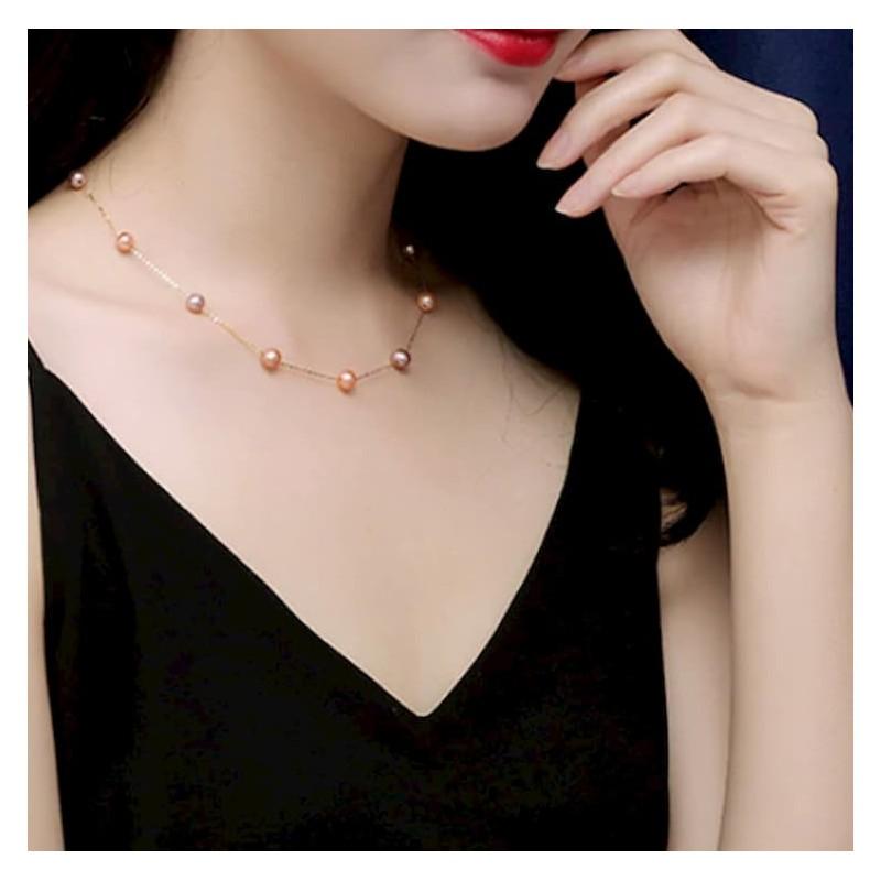 collar de perlas atemporal