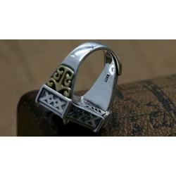 anillo de plata hombres