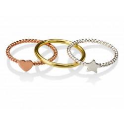 tres anillos en uno