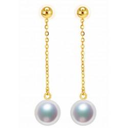 Pendientes de perlas y...