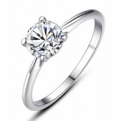 Anillos de boda con diamantes