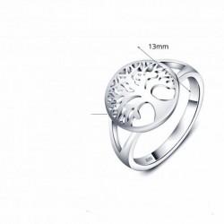 anillo de plata 925 árbol de la vida