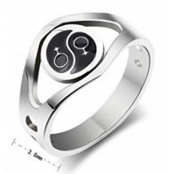anillo yin yang