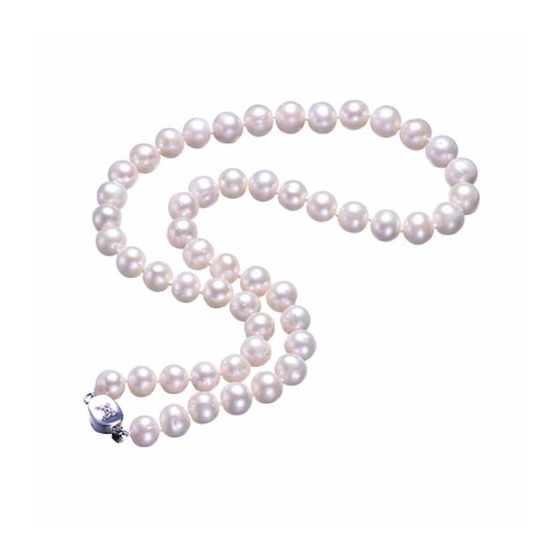Collar de perlas cultivadas en agua dulce