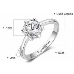 anillo de boda personalizado