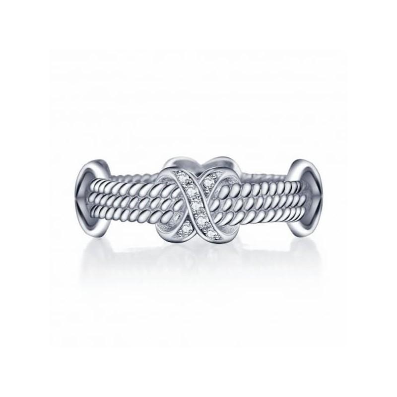 anillo ancho de plata 925