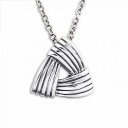Collar de plata de diseño