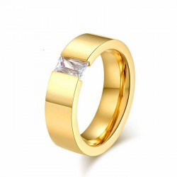 Alianzas de matrimonio con circonia